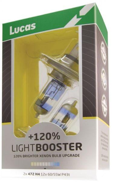 Lucas LightBooster H7 12V 55W +120% 2ks