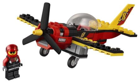 LEGO City 60144 Tekmovalno letalo