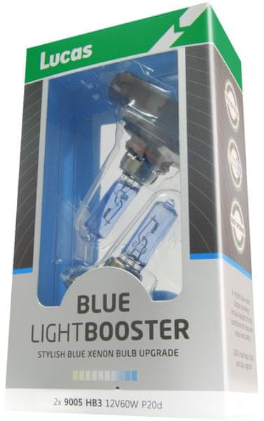 Lucas LightBooster H4 12V 60/55W Blue 2ks