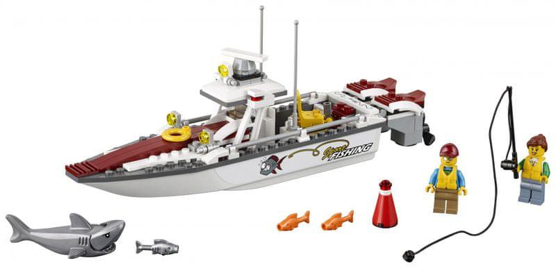 LEGO® City 60147 Rybářská loďka