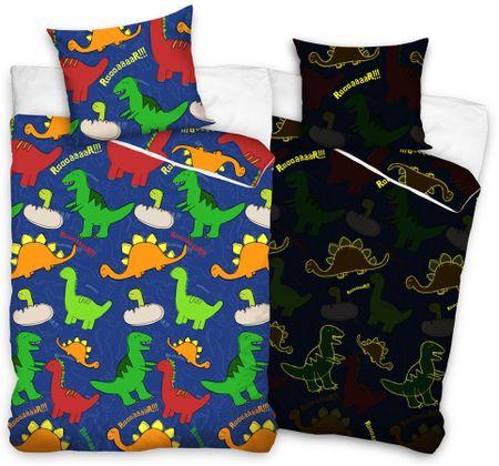 Carbotex otroška posteljnina Dinozavri