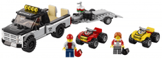 LEGO City 60148 Ekipa dirkalnega štirikolesnika