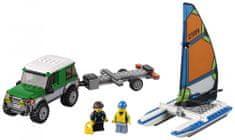 LEGO® City 60149 4x4 s katamaranom