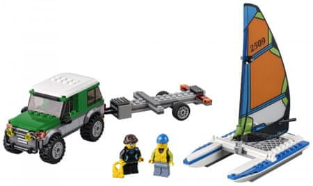 LEGO City 60149 Terenec s katamaranom