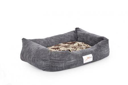 X-Pets pasja postelja Sultan, XL, siva