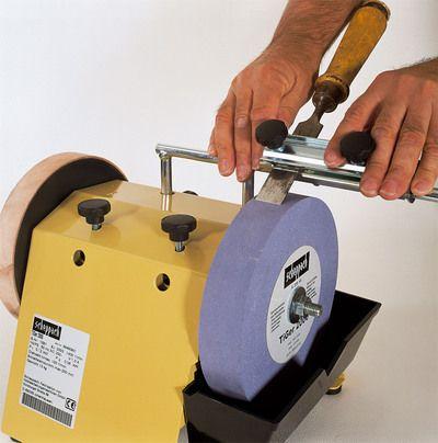 Scheppach JIG 70 - Prípravok na brúsenie rov.nožov
