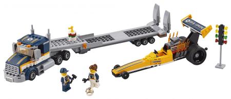 LEGO City 60151 Transporter za dragsterje