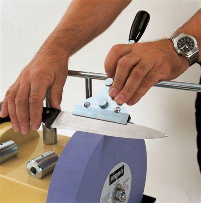 Scheppach JIG 120 - Prípravok na brúsenie dl. nožov