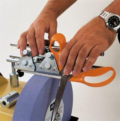 Scheppach JIG 160 - Prípravok na brúsenie nožníc