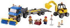 LEGO® City 60152 Kamion za čišćenje i bager za iskapanje