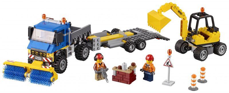 LEGO® City 60152 Zametací vůz a bagr