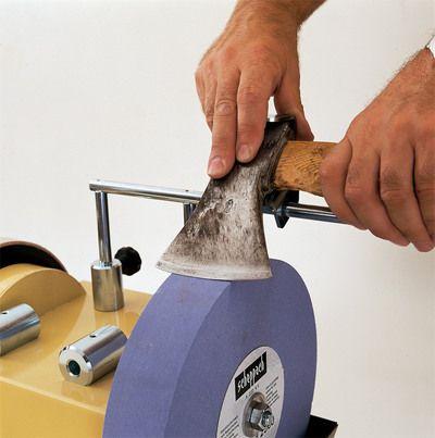 Scheppach JIG 40 - Prípravok na brúsenie sekier