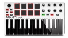 Akai MPK Mini mkII White ltd. edition USB/MIDI keyboard