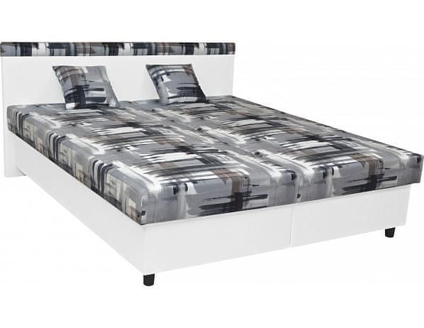 Čalouněná postel Fantom, Matheo 10, Karagan 14