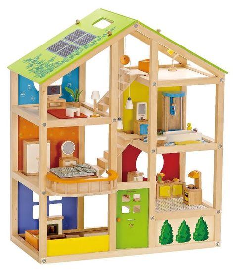 Hape Színes emeletes ház