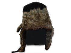 Eiger Ušanka Suede Fur Hat Black