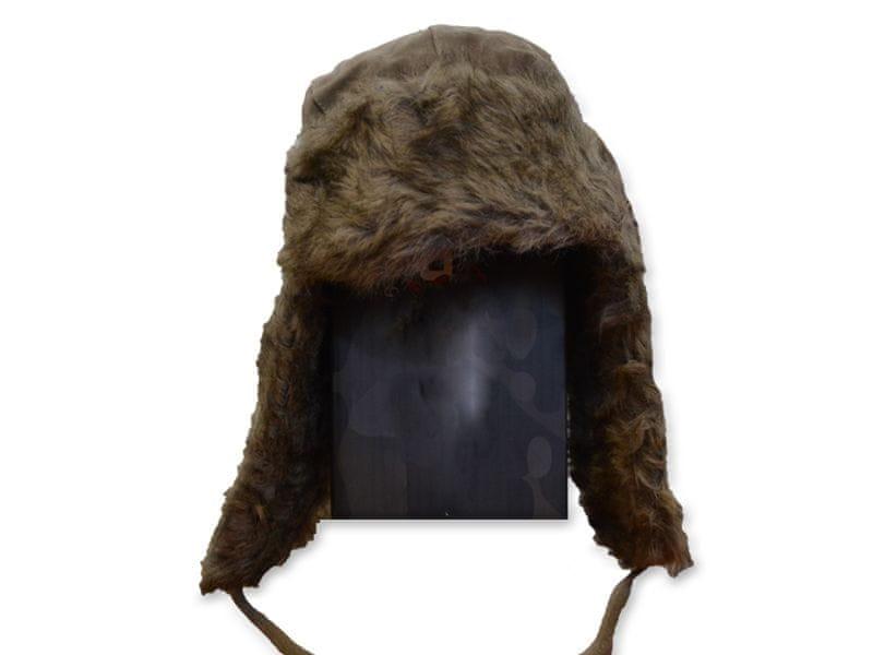 Eiger Ušanka Lady Suede Fur Hat Pale Khaki L