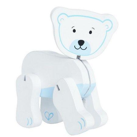 Hape lesena igrača Polarni medved