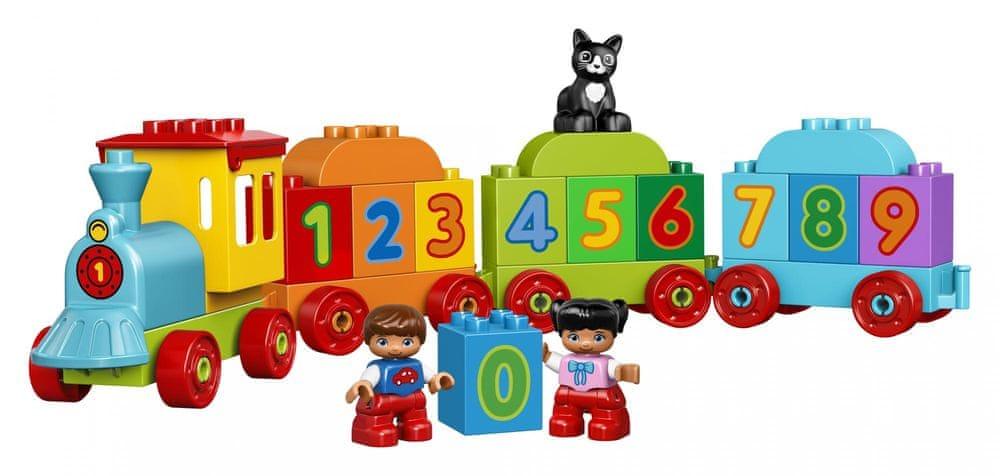 LEGO DUPLO® 10847 Vláčik s číslami