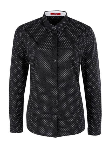 s.Oliver dámská košile 36 černá