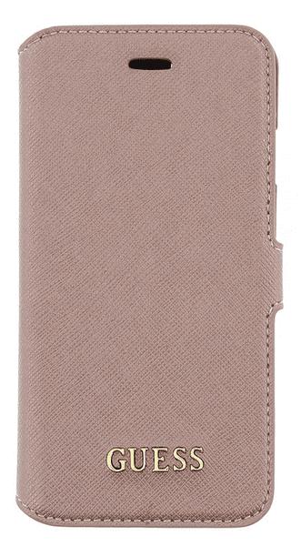 Guess GUFLBKP7TRO pouzdro Pink pro iPhone 7