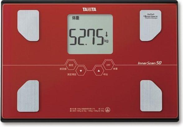 Tanita BC-313 cihlová
