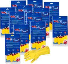 Vektex Simplex rukavice, veľkosť M, 12 párov