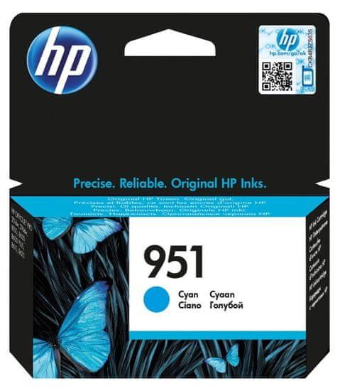 HP tinta 951, Cyan, 8,5 ml (CN050AE)