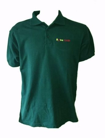 Extra Carp Polo Tričko Dark Green XL