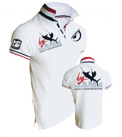 Hotspot Design Tričko Polo Big Game - Only The Strong XL