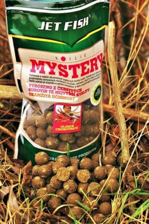 Jet Fish boilies Mystery 1 kg 20 mm Krill / Sépia