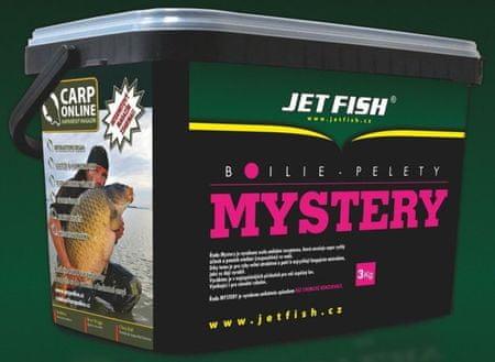 Jet Fish boilies Mystery 3 kg 20 mm Pečeň / Krab