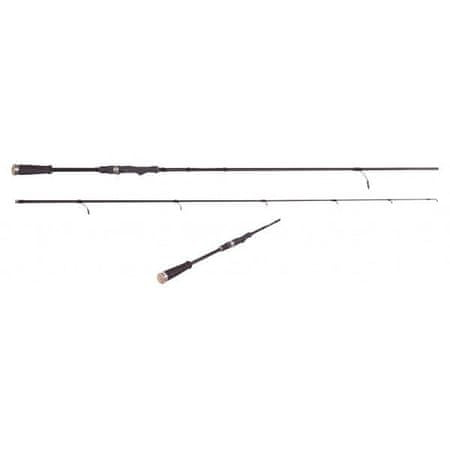 Saenger Specitec Prút FTA Spin Pro–T Black 2,4 m 15-45 g