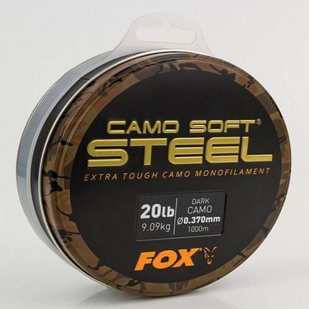 FOX Vlasec Camo Soft Steel Light Camo 1000 m 0,350 mm, 18 lb