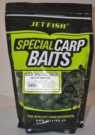 Jet Fish Boilies Special Amur 800 g Lúčna Tráva, 16 mm