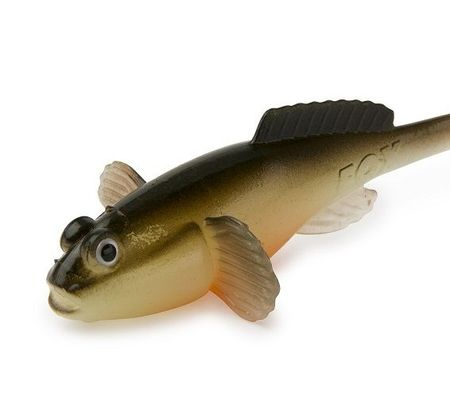 FOX Rage Gumová nástraha Grondle Twist Hot Olive 10 cm 4 ks
