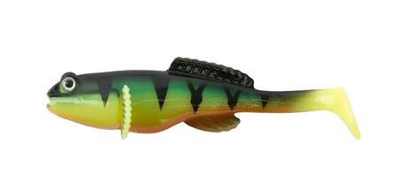 FOX Rage Gumová nástraha Grondle Wobble Fire Tiger 10 cm 4 ks