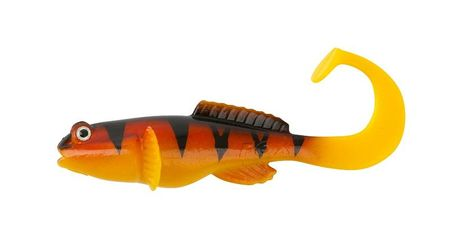 FOX Rage Gumová nástraha Grondle Twist Hot Tiger 10 cm 4 ks