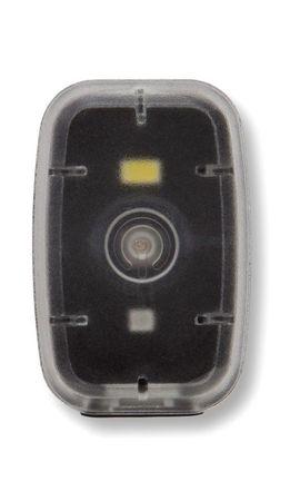 Silverpoint Svetelný Klip Light nabíjateľný čierny