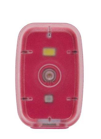 Silverpoint Svetelný Klip Light dobíjací ružový