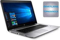 "HP prenosnik ProBook 470 G4 i5-7200U/8GB/256+1TB/17,3""/GF930MX/W10Pro (Y8B64EA)"