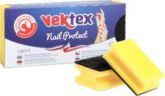 Vektex Tvarované houbičky na nádobí Nail Protect 10x 3 ks