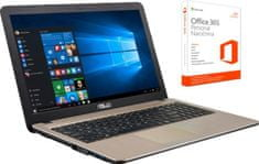 Asus prenosnik X540LA-XX538T i3/4/1TB/15.6LED/Win10+Office365p