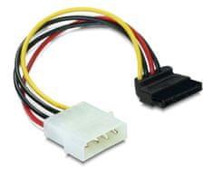Delock adapter Serial ATA 1x SATA kotni + 1x Molex M