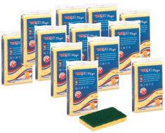 Vektex Magic gąbka do naczyń 12 sztuk