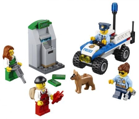 LEGO City 60136 Začetni komplet policije