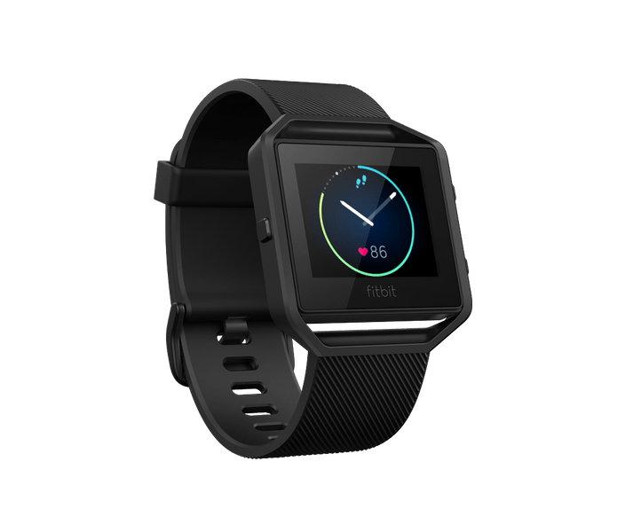 Fitbit Blaze, Black/Gunmetal, Large