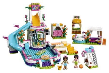 LEGO Friends 41313 Poletni bazen v Heartlaku