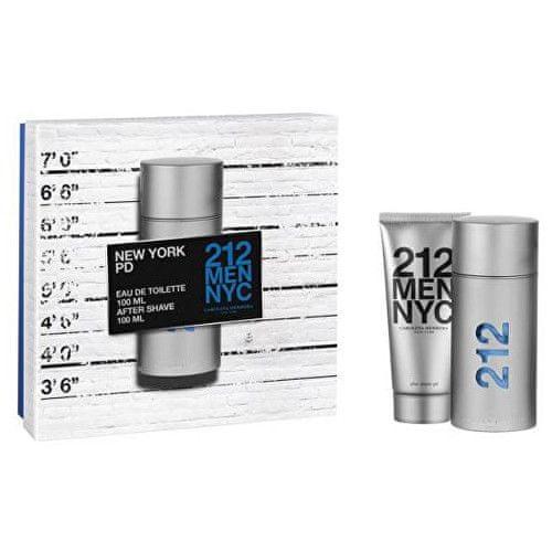 Carolina Herrera 212 Men - EDT 100 ml + gel po holení 100 ml