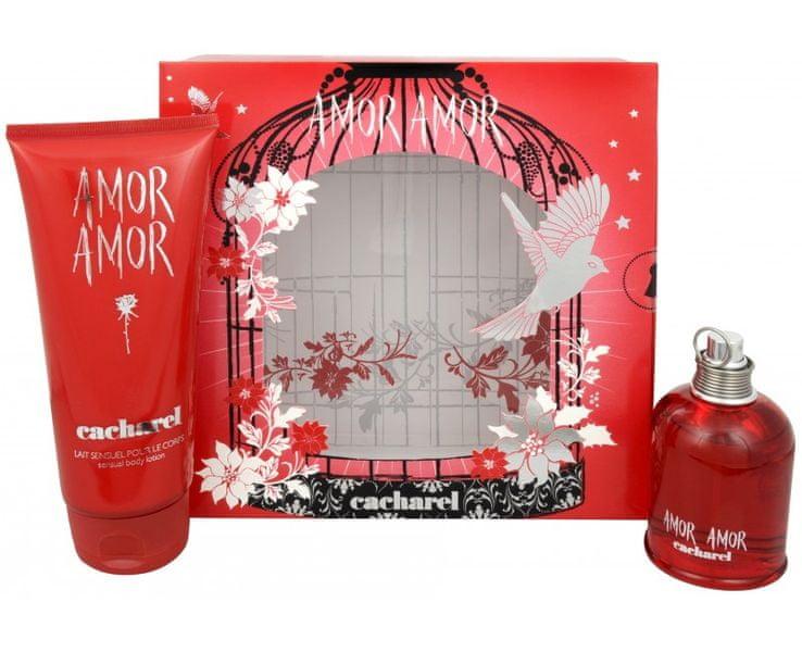 Cacharel Amor Amor - EDT 100 ml + tělové mléko 200 ml